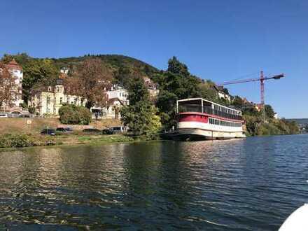 Gastro-Perle sucht Investor: Einmaliges Restaurantschiff mit Blick aufs Heidelberger Schloss