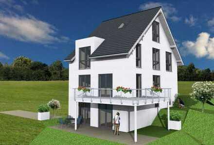 +++ Geplante Doppelhaushälfte mit Ausblick in Randlage +++