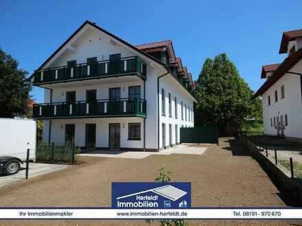 Schicke Neubau-EG-Wohnung mit Terrasse und Garten in ruhiger Lage!