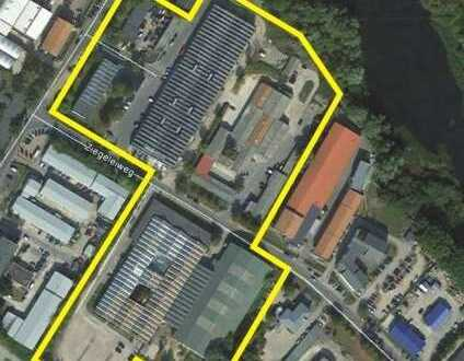 20m² - 3000m² Hallenflächen und Büroflächen verschiedene Größen, warm oder kalt, mit Sektionalto/r