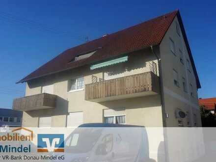 Gepflegte Dachgeschosswohnung in Lauingen zu verkaufen!
