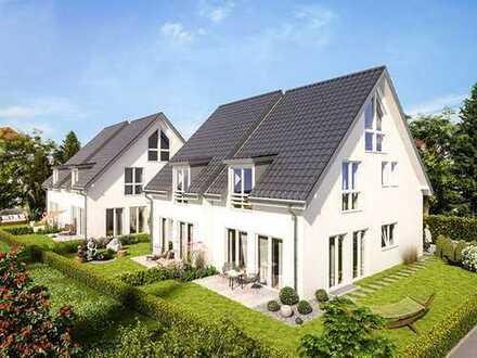 DHH Neubau, Obermenzing mit Gartenanteil, SW-Terrasse,, 6 Zimmer,