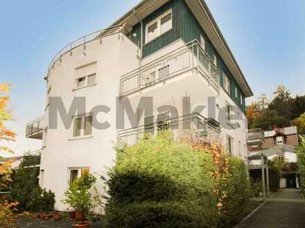 Kapitalanlage am Neckarufer: Vermietete 1-Zimmer-Wohnung mit Balkon in HD-Ziegelhausen
