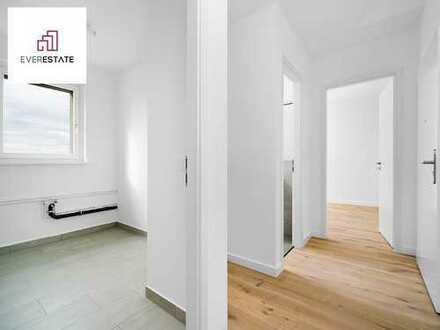 Provisionsfrei: Frisch sanierte 2-Zimmer-Wohnung mit Balkon