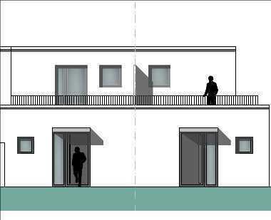 Neubau-Traum im Pulheimer Zentrum! Doppelhaushälfte mit Terrasse, Garten, 2 Dachterrassen und Garage