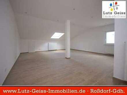 """""""Traumhafter Fernblick"""" Dachgeschoss 2-Zimmer-Mietwohnung in ruhiger, begehrter Lage von Roßdorf"""