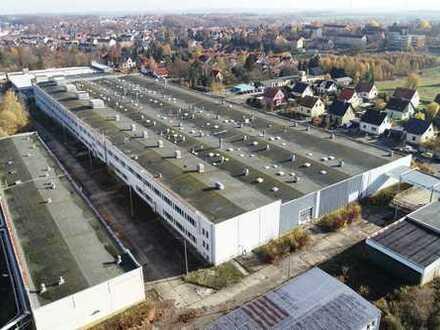 Werden Sie Teil des Wachstums in Meerane: ca. 11.000 m² Halle zum Kauf!