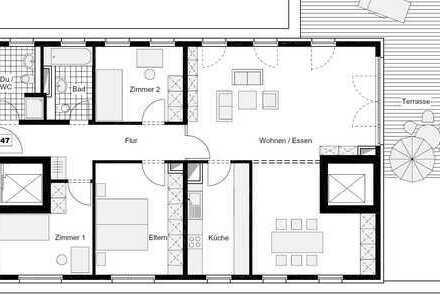 Stilvolle 5-Zimmer-Dachgeschosswohnung mit großer Terrasse in Köln Sülz