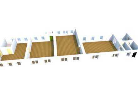 3 Monate mietfrei -Gewerbefläche 329 qm für Verkauf / Ausstellung / Studio mit Parkett