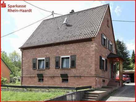 Solides freistehendes Einfamilienhaus in Ortsrandlage von Carlsberg-Hertlingshausen