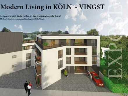 Auf die Bedürfnisse der Bewohner ausgerichtet ! 2-Zimmer-Wohnung auf ca. 48 m² Wohnfläche mit Balkon