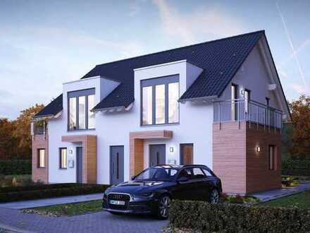 Traumhaftes Doppelhaus für die ganze Familie oder zum Vermieten! Bauen Sie Ihre Wohlfühloase!!!