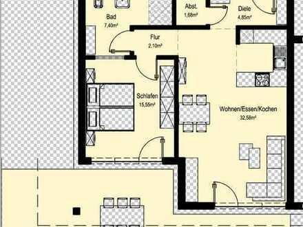 NEUBAU 2-Zimmer Penthouse-Wohnung