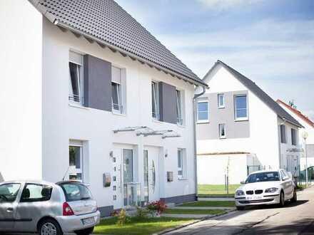 Schicke, schlüsselfertige, NEUE DHH in Leimen inkl. Grundstück und Gartenhaus