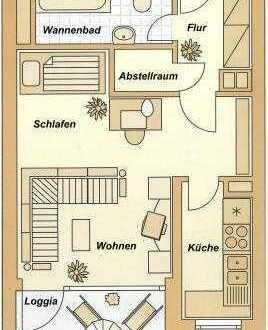 Hell und modern 1 Zimmer/Küche/Bad/Balkon Wohnung in Bonn Hardtberg