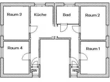 **Für Sie umgebaut**4-Raum am Freibad**
