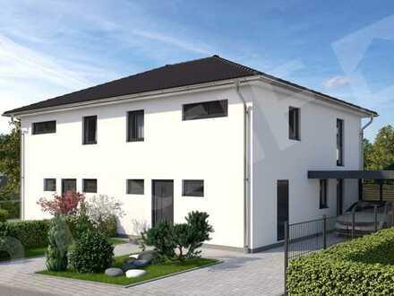 NUR noch 1 Hälfte frei, Bauen Sie mit Streif Ihre Doppelhaushälfte in Burgrieden inkl. Grundstück