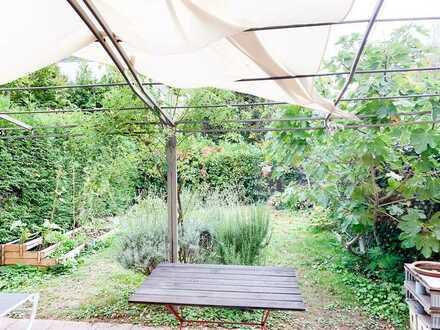 Helle Terrassenwohnung mit Garten, vollmöbliert in Wiesloch