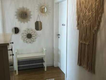 Helle, modernisierte 3,5 Zimmer- Wohnung mit Balkon und Gartenzugang in PF-Brötzingen