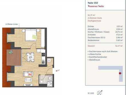 Schöne zwei Zimmer Wohnung in Berlin, Kladow (Spandau)