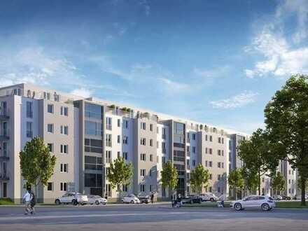 KL-Pfaffstraße- Erstbezug: Attrakt. 4-Zimmerwohnung mit Balkon und TG-Stellplatz/PKW-Stellplatz