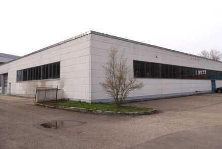 +++ Großes Produktionsgebäude bzw. Lagerhalle +++
