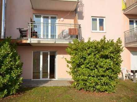 RESERVIERT!3-Zi.-Komfort-Wohnung mit 2 Terrassen+Gartenanteil+2 Bäder im Südosten von Rgbg.