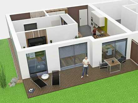 Eigentumswohnung mit Terrasse u. Garten