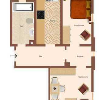 Sonnige Wohnung in Villa zu vermieten!