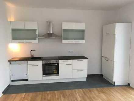 Erstbezug eines SmartHome mit Einbauküche und Balkon: 3-Zimmer-Wohnung in Frankfurt am Main
