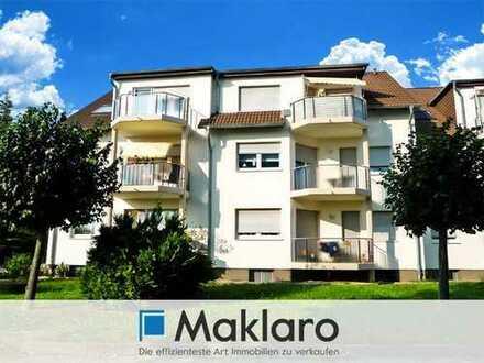 +++ Moderne Eigentumswohnung in ruhiger Lage +++ 3-Zimmer-Wohnung mit 2 Balkonen in Spremberg