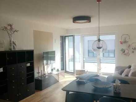 Exklusive, neuwertige 2-Zimmer-Wohnung mit Balkon und Einbauküche in Adelsdorf
