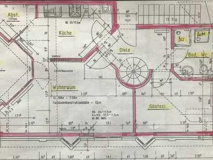 Schöne drei Zimmer Etagenwohnung im Wesel (Kreis), Hamminkeln