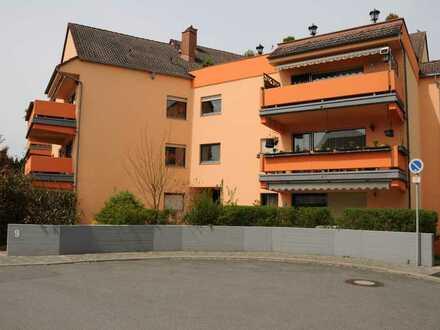Vollständig renovierte 2,5-Zimmer-Wohnung mit Südbalkon, Einbauküche und KFZ-Stellplatz