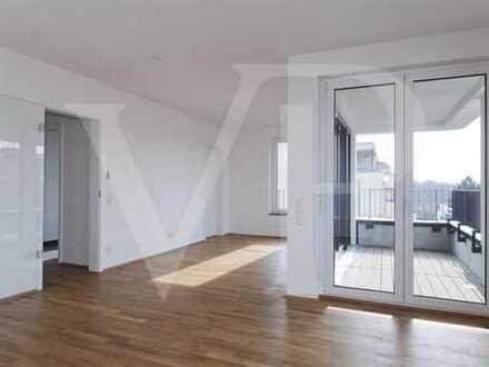 Klasse 4-Zimmerwohnung mit Loggia im Quartier Reiterstaffel Marienburg! - möbliert möglich!