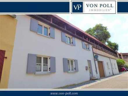 Seltenes Angebot: Sanierte 2-Zimmer Kasarm in der Nördlinger Altstadt