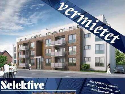 Neubau DU-Bergheim - 2-Zimmer-Wohnung im 3. OG mit Balkon, Aufzug und Garage nahe Töppersee