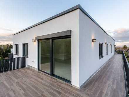 Penthouse Neubauwohnung mit Traumblick über Bad Vilbel und über 60qm Balkonfläche