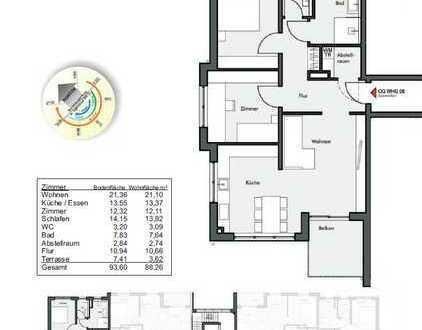 Wohnung 8 im OG / 88m² / 3,5 Zimmer