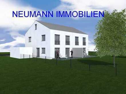 NEUMANN - Neubau! KfW 55! Hochwertige Doppelhaushälften in sehr guter Lage- Nur noch eine DHH frei!