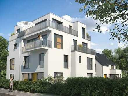 Grün, Ruhig, Zentral: Neubau-5 Zimmer Maisonette Wohnung mit Privatgarten