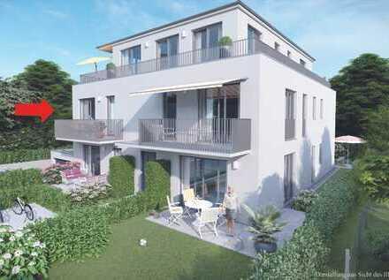 Exklusive 3-Zimmer-Wohnung in kleiner Wohnanlage in Pasing mit Miele-Einbauküche