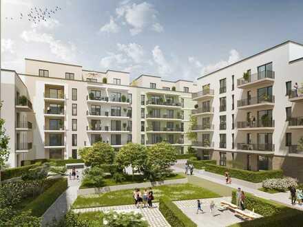 Schon jetzt sichern! 2-Zi.-Wohnung mit EBK, Ankleide, Terrasse und Mietergarten unweit des Zentrums