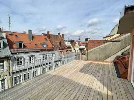 Exklusive Maisonette-WHG mit 27 m² Altane