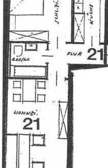 Sanierte 2-Zimmer-Küche- Bad-Wohnung mit Balkon in Schwetzingen