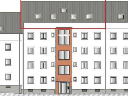 Neubau durch Aufstockung - 4-Zimmer-Mietwohnung