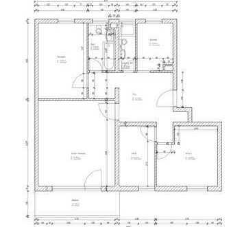 Erstbezug nach Sanierung, 4-Zimmer-Wohnung mit Südbalkon