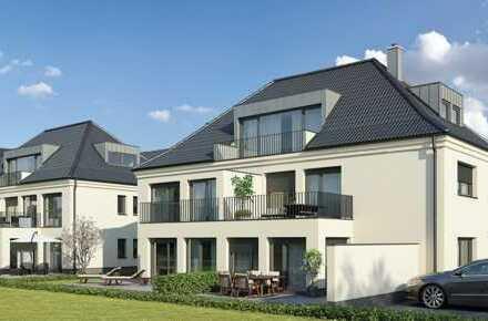 E & Co. - Wohnen im Augustinviertel. Neubau 3 Zimmer Wohnung mit ca. 11qm Süd/West Balkon.