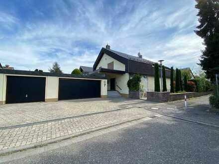 im Grünen gelegenes Einfamilienhaus in Ettlingen-Bruchhausen