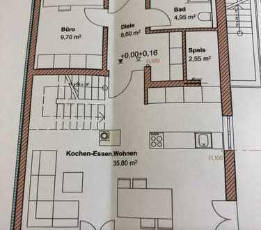 Erstbezug: Moderne Doppelhaushälfte in traumhafter Ortsrandlage in Kleinberghofen